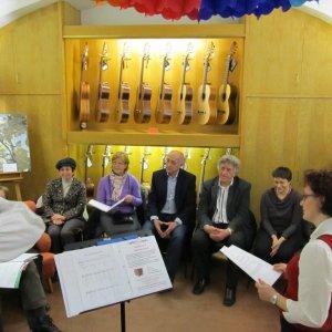 Präsentation im Hause Musik am rechten Fleck, Graz